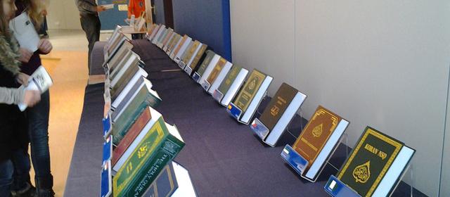 islamausstellung in bensheim ahmadiyya muslim jamaat deutschland. Black Bedroom Furniture Sets. Home Design Ideas